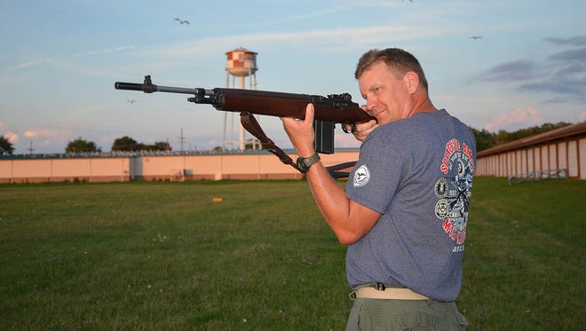 William Kiel has been a competitive marksman since 2001. The M1A event was his first National Match win.