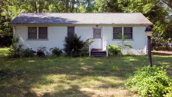 The Fredericksburg, Va., home where Kariem Ali Muhammad Moore, 43, is accused of holding a former girlfriend and their two children hostage for more than two years. He was arrested July 29, 2017, after the three escaped as deputies visited the home for a welfare check.
