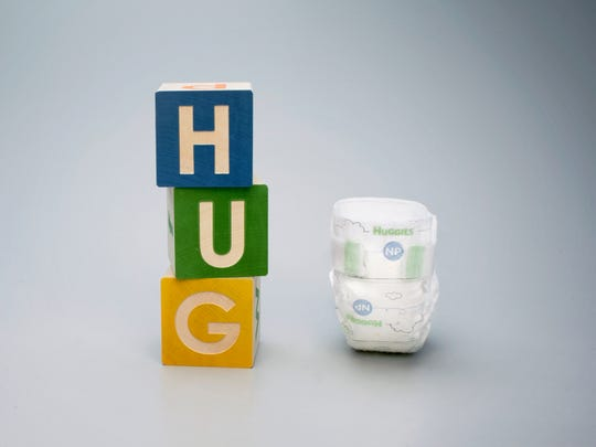 A diaper developed by Huggies for premature babies.