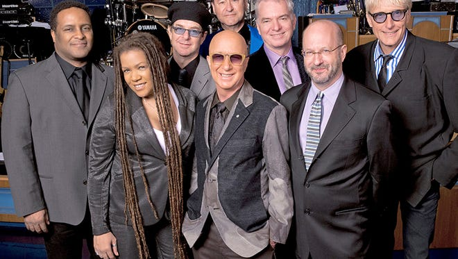 """Paul Shaffer with the World's Most Dangerous Band that for years performed on """"Late Show with David Letterman."""""""