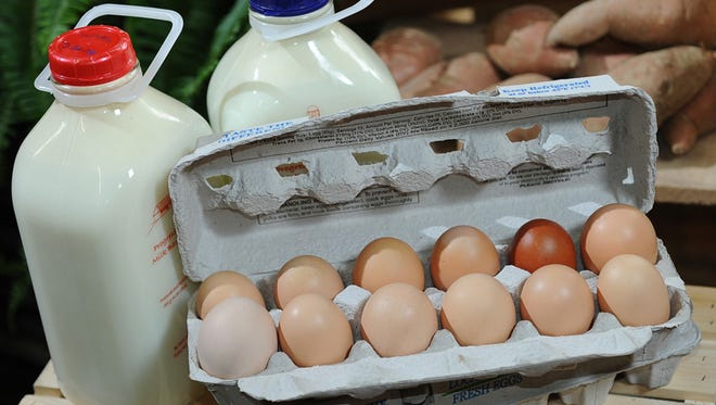 Sarah Cote sources only local eggs and milk at the Fresh Magnolia Market in Gluckstadt.