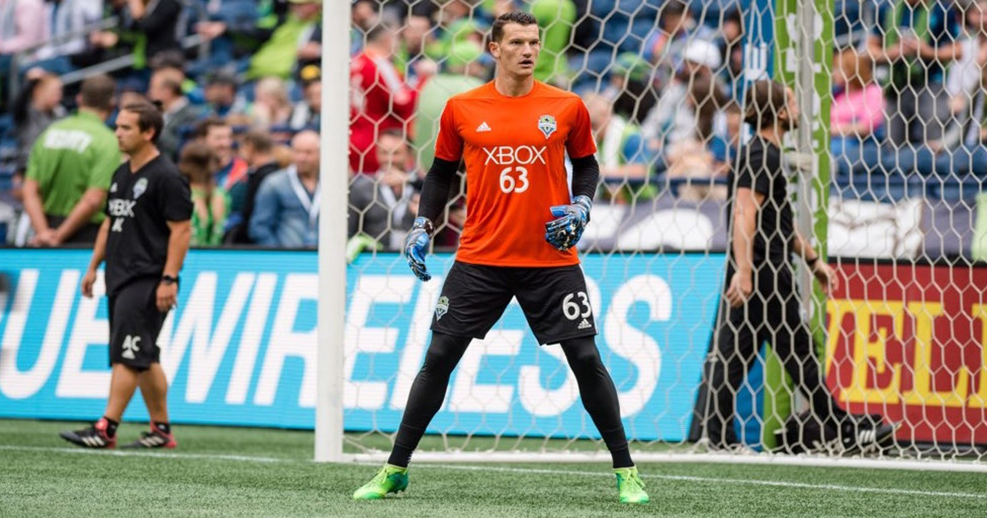 df13af48735 Former Kitsap Pumas goalkeeper Lubin cherishes short stay with Sounders