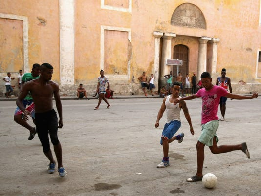 Cuba Soccer