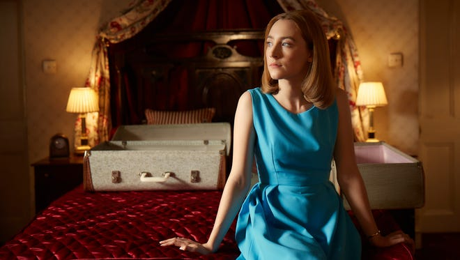 "Florence (Saoirse Ronan) is a sexually inexperienced bride in ""On Chesil Beach."""