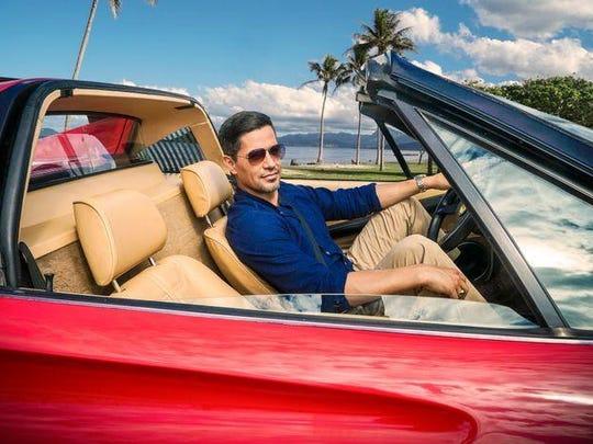 "CBS's reboot of ""Magnum P.I."" stars Jay Hernandez as"