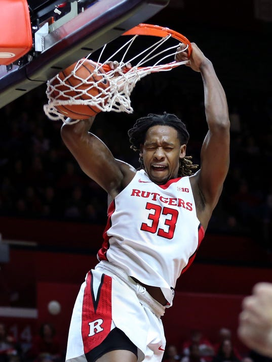 Rutgers holds off Morgan State in men's basketball