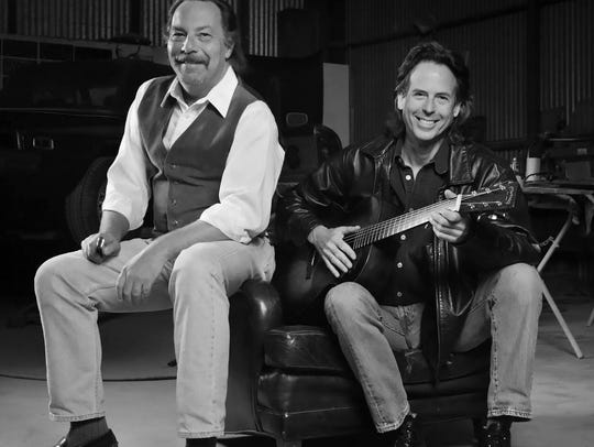 Bluesmen Tom Ball & Kenny Sultan will bring their acoustic