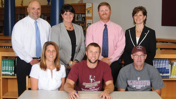 West York Official Signing-Jerrin Toomey-Bloomsburg University-Football