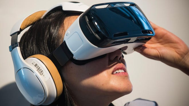 Turn your phone into a virtual reality headset with Samsung Gear VR.