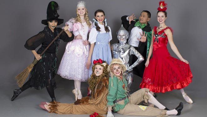 "The Capitol Ballet Theatre will perform ""The Wizard of Oz,"" a combination of stage music and ballet classic performance, Friday, May 4-Sunday, May 6 at Holt High School."