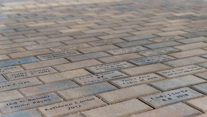 More than 750 donors, representing 31 states have already placed about 800 bricks in the plaza, raising more than $110,000. The last date to purchase a brick, which will be installed in July, is Monday, June 15.