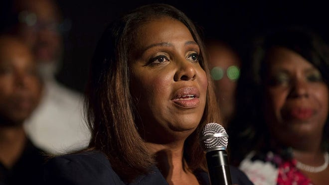New York Attorney General Letitia James filed a lawsuit Thursday in state court against the National Rifle Association, CEO Wayne LaPierre and three other organizational leaders.