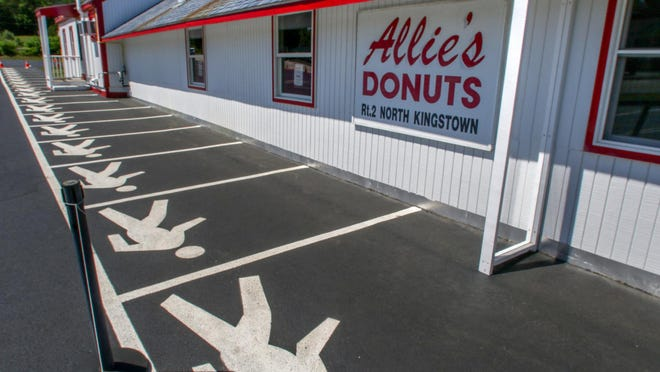 Allie's Donuts, in North Kingstown, closed on on Mondays, upset some people Saturday when its owner, Matt Drescher, said the shop would no longer offer discounts to police officers and members of the military after a black Providence firefighter said he was racially profiled by two city police officers.