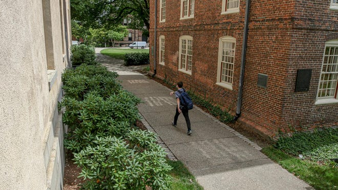 The campus at Brown University remains mostly quiet. Undergraduate students will take classes online from Sept. 9 until at least Oct. 5.