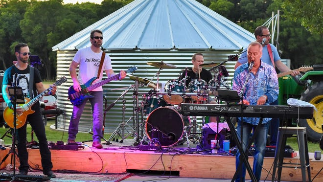 The cover band Journesis takes the stage June 20 at Barnhill Vineyard in Anna. The venue is scheduled to host live music performances most Friday and Saturday evenings though July.