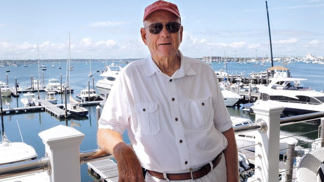 David Hurd, 77, is paying rent to stay at a friend's place while he tries to get disbarred lawyer Cynthia Dziurgot to vacate his Newport condo.