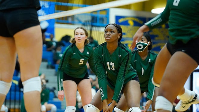 Connally's Imani Okorocha and the Cougars face Hendrickson Friday in a battle for first place in District 18-5A.