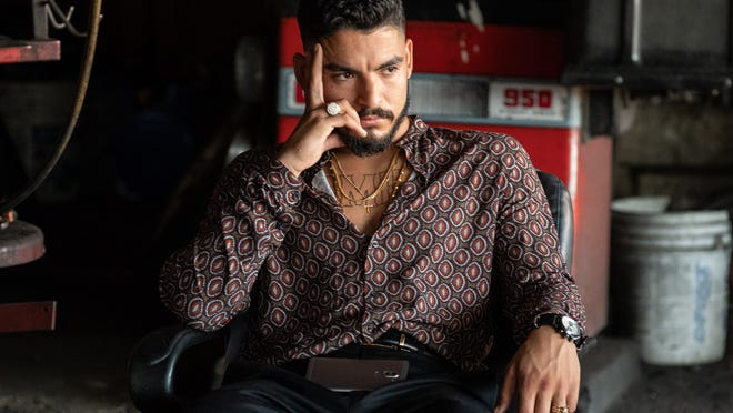 David (Bobby Soto) is lost in troubled thoughts.