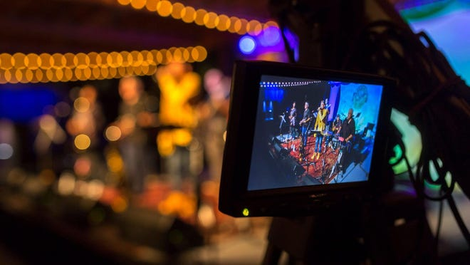 An image of the live-stream effort from the Savannah-Safe Jazz Festival 2020.