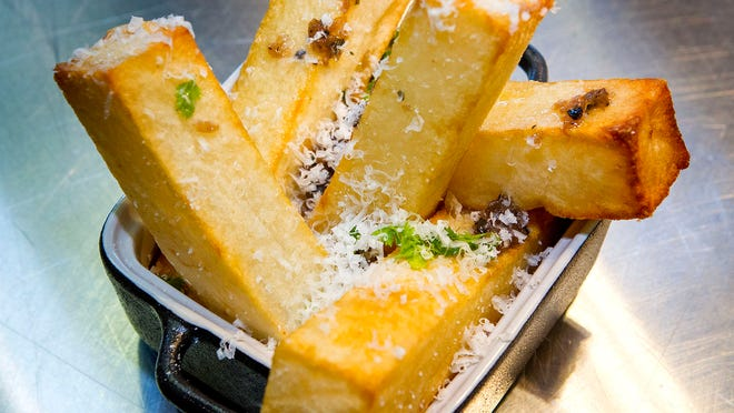 Truffle fries at Cross & Orange in Asbury Park, which is getting ready for its first Jersey Shore Restaurant Week.