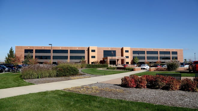 The exterior view of the Toyota Technical Center in York Township, Michigan on Thursday.