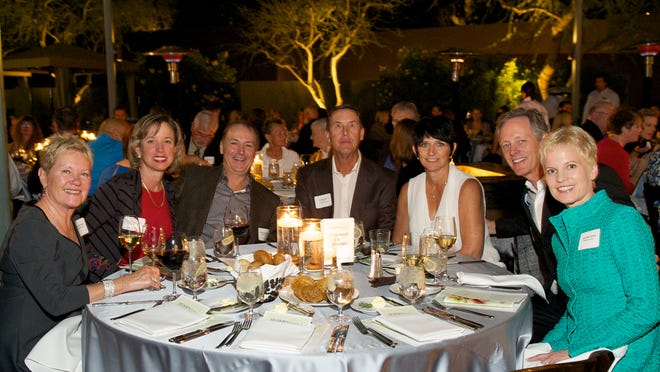 From left, BIGHORN Cares donors Marcy Harzack, Katy Titcomb, Harry Harzack, Ed and Susan Berger, Joe and Jennifer Kirby.