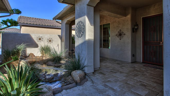 Do your research before buying a retirement home. Pictured is a house in Sun City Festival in Buckeye with the Destiny floor plan.