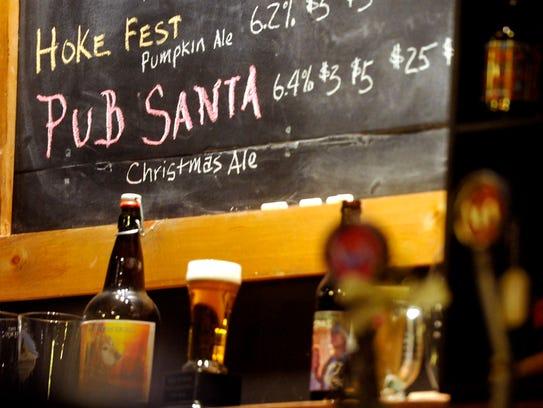 At Liquid Hero Brewery, this year's Pub Santa was made