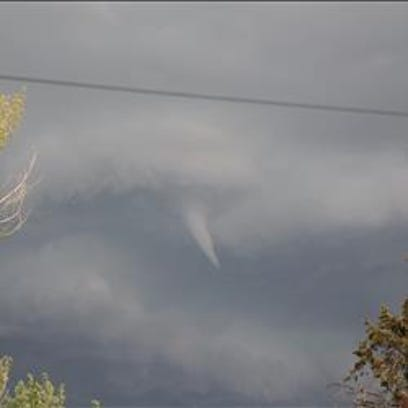 9NEWS viewers spotted a funnel cloud over Boulder County