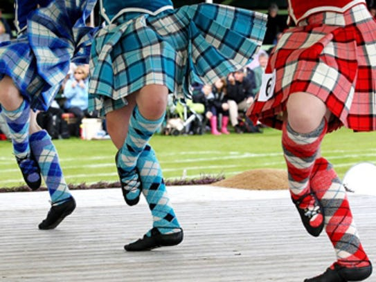 The Phoenix Scottish Games will had traditional feat