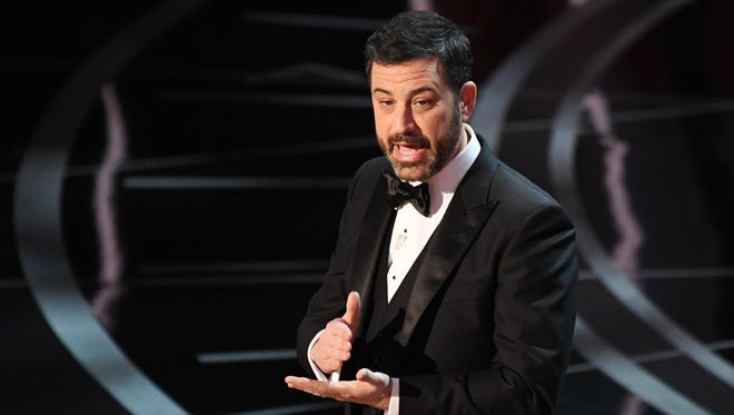 Jimmy Kimmel hosted the 89th Academy Awards, which neared a record ratings low.