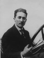 Jules Goux, 1913 winner of the Indianapolis 500-Mile