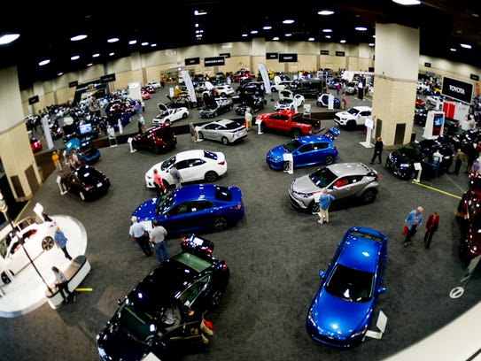 The 30th annual Knox News Auto Show at the Knoxville
