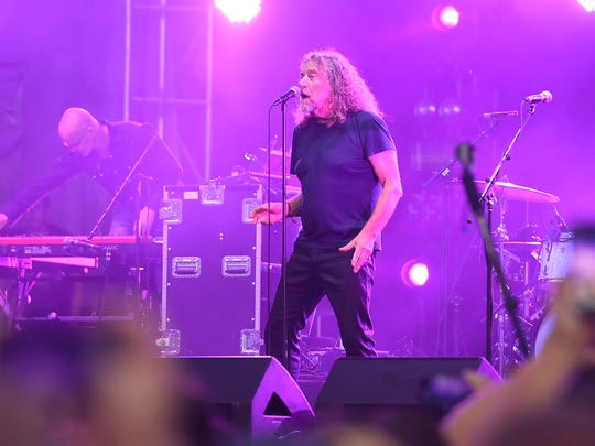 Musician Robert Plant & The Sensational Space Shifters
