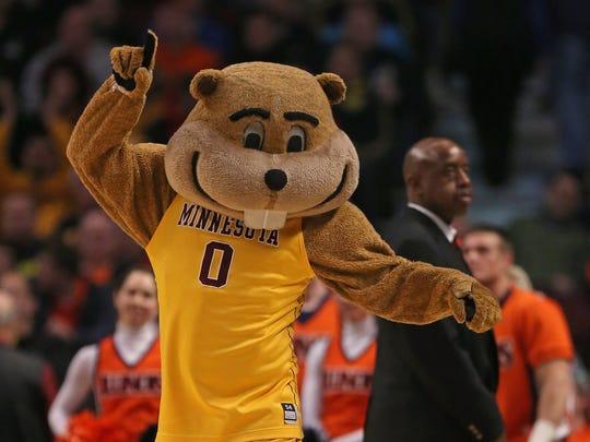 Goldy Gopher, mascot for the Minnesota Golden Gophers