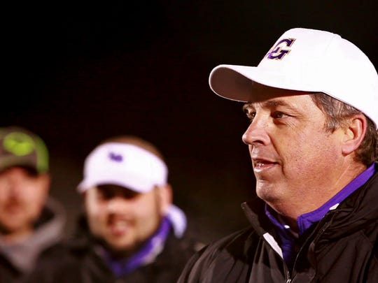Waynesboro head coach Derek McDaniel praises the team