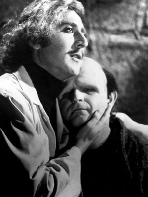 "Gene Wilder and Peter Boyle star in ""Young Frankenstein."""
