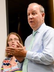 Lt. David Baker, Director of Emergency Management with