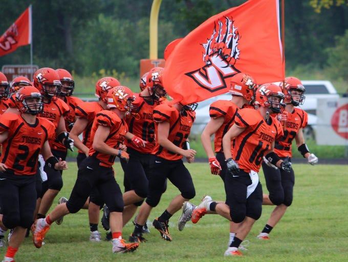 Iowa Valley defeated WACO 46-32 in an 8-man football