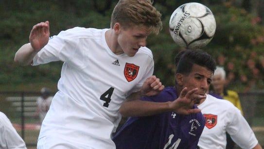 New Rochelle boys soccer won 2-0 at White Plains Sept.
