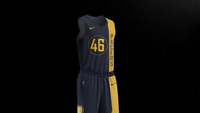 The Pacers unveiled their City edition uniforms Wednesday.