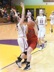 Shaina Orewiler could average a double-double this year after she nearly did as a junior.