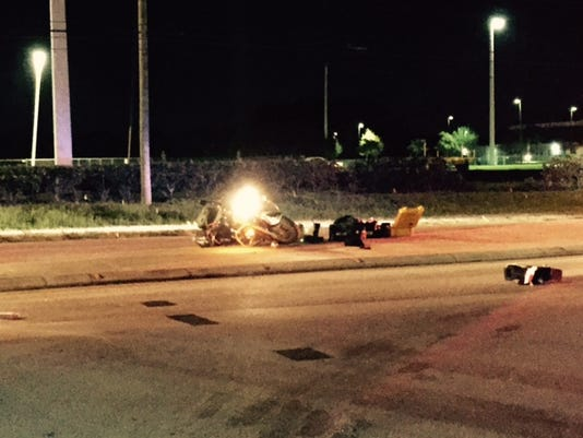 Man seriously injured in Rockledge motorcycle crash