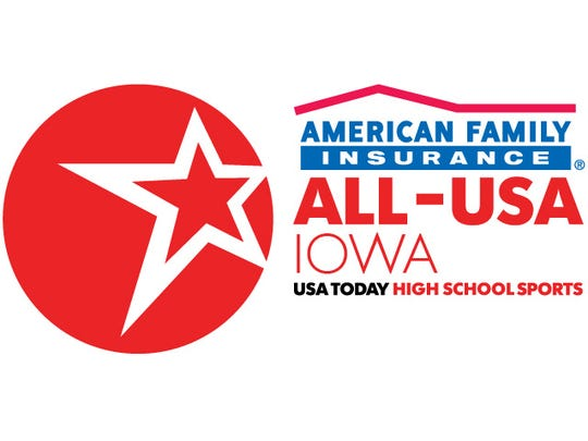 American Family Insurance ALL-USA IOWA team.