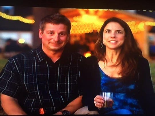 "Jim and Juli Constine as seen on Sunday's episode of ""Epic Bar Builds."""