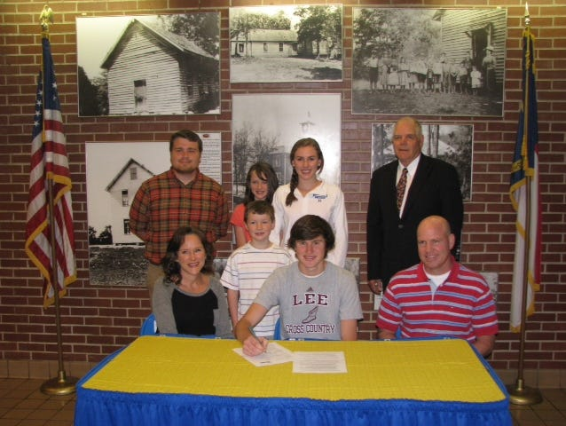 Highlands' Davis Moore has signed to run college cross country and track for Lee (Tenn.).
