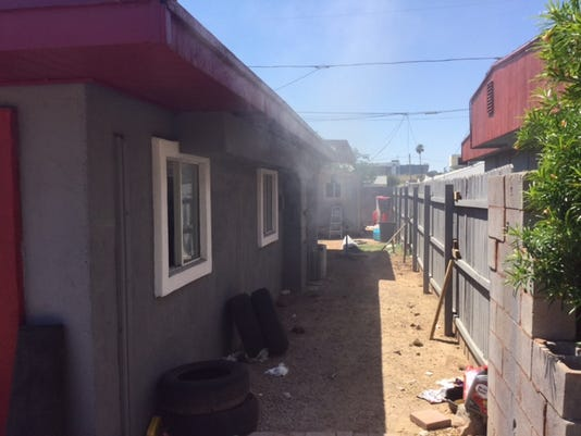 House fire in Phoenix