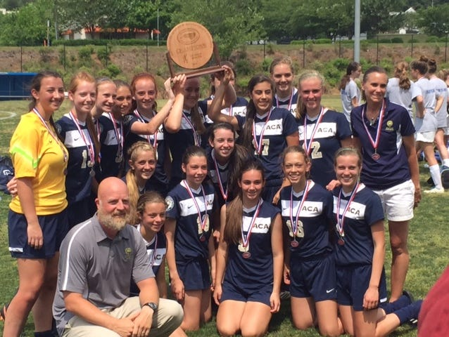 The Asheville Christian Academy girls won the NCISAA 2-A soccer championship on Saturday in Winston-Salem.
