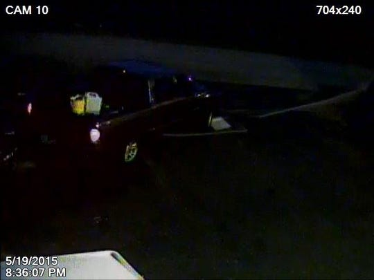 Truck in burglary try