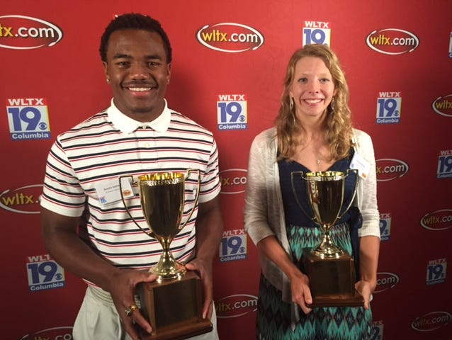 Kendrick Gathers and Ansley Gilstrap are the News19 Players of the Year.